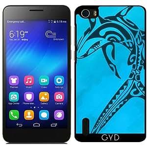 Funda para Huawei Honor 6 - Sharked by Texnotropio