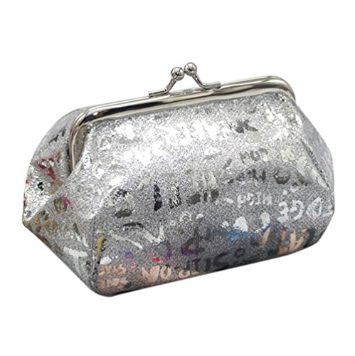 Purse Wallet TOOPOOT Lady Bag Coin Bag Clearance Silver Laser Coin Reflector Deals Women IxvwqZz