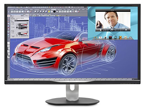 (Philips BDM3270QP2 32 inch class LED-Lit monitor, 2560x1440 res, 4ms, 50M:1DCR, VGA, DVI, Display Port, HDMI, USB, Spk)