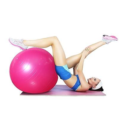 Gimnasio Bola de Yoga de 65cm con Bomba,Oummit Bola de Fitness ...