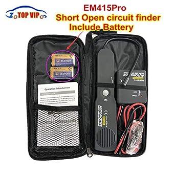 lkcauto tech with battery!car automotive short \u0026 open finder circuit