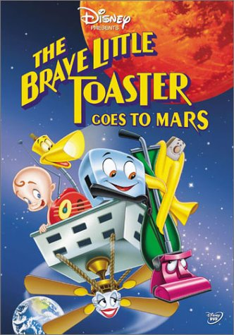 The Brave Little Toaster Goes to Mars Farrah Fawcett Brian Doyle-Murray Deanna Oliver DeForest Kelley