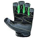 ScoutPerformanceGear Premium Sailing Gloves Dexter Series – 3/4 Finger Padded Grippy Palm – Spandex Back for Best Sailing, Kayaking, Fishing Experience for Men Women & Kids