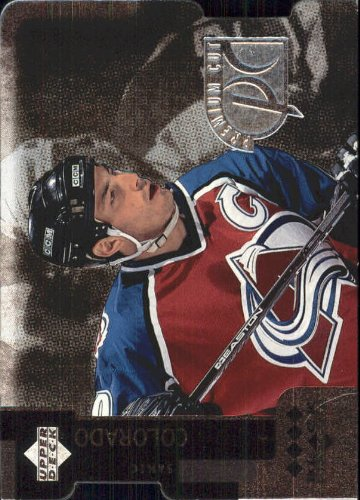 - 1997-98 Black Diamond Premium Cut Quadruple Diamond Horizontal #PC29 Joe Sakic