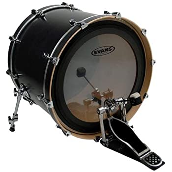 evans emad 22 clear bass drum head with free 14 g1 reverse dot snare head musical. Black Bedroom Furniture Sets. Home Design Ideas
