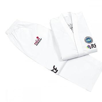 Amazon.com: Traje de estudiante Taekwondo aprobado por FUJI ...