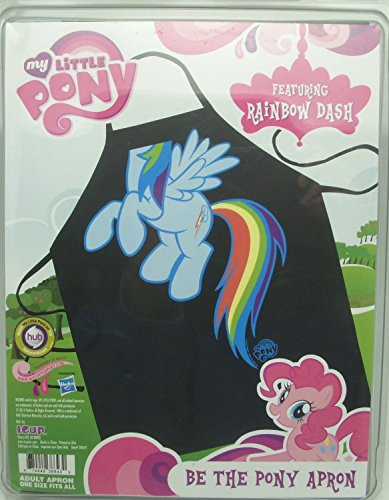 ICUP My Little Pony Rainbow Dash Character Apron, Clear -