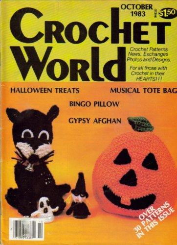 Potpourri Mug - Crochet World (Halloween Treats, Musical Tote Bags, September/October 1983 - Vol 6, No 4)
