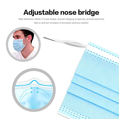individually wrapped surgical face mask