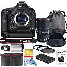 Canon EOS-1D X Mark II DSLR Camera w/ Canon EF 16-35mm f/4L IS USM Lens Bundle