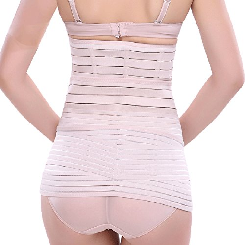 e5e843ec9c 3 in 1 postpartum support Girdle Recovery Belly Belt Body Postnatal  Shapewear 85%OFF