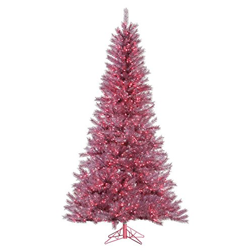 Vickerman-45-Orchid-Pink-Tinsel-Artificial-Christmas-Tree-with-200-Pink-lights