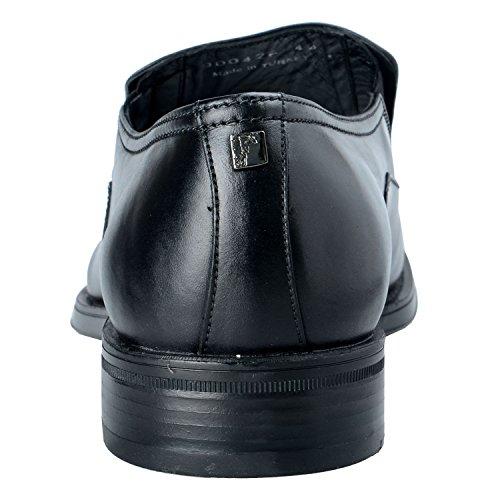 Versace Samling Mens Svarta Läder Loafers Halka På Skor Oss 11 Den 44
