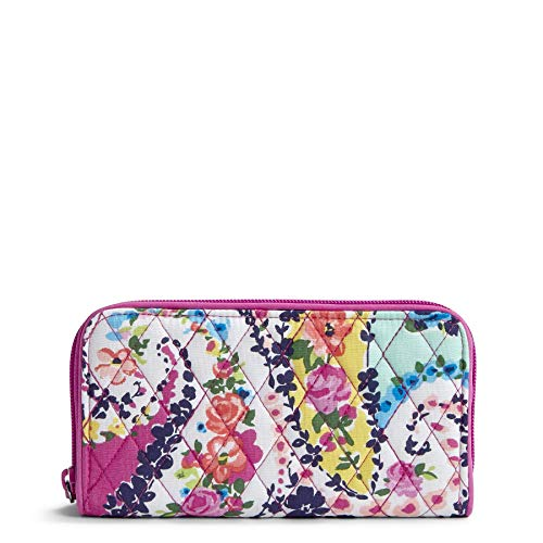 Vera Bradley RFID Georgia Wallet, Signature Cotton, Wildflower Paisley