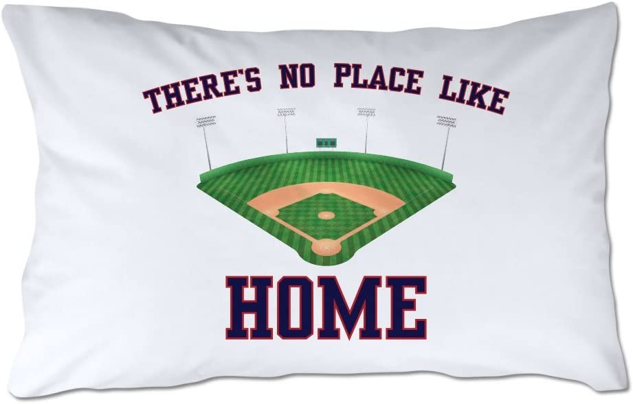 4 Wooden Shoes There's No Place Like Home Baseball Pillowcase