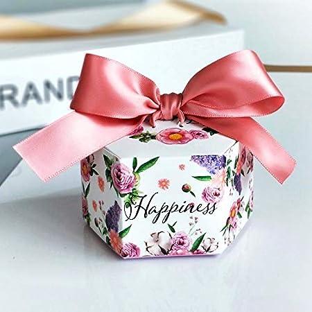 Boda favores de la caja del caramelo de papel cajas de ...