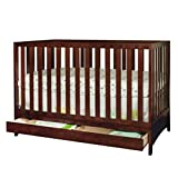 Athena AFG Mila 3-in-1 Convertible Crib with Toddler Guardrail, Espresso Review