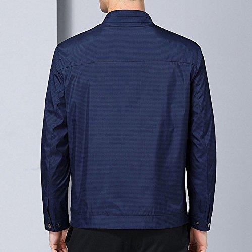 88 Da Autunno Spring Comodo 170 Casual Primavera Thin Maniche blue Lunghe Jacket Autunno Giacca Slim Uomo Risvolto Sports A Large 7HzwZ7qdx