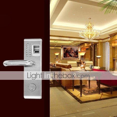 Lightinthebox Touch Premium Biometric Fingerprint and Password Door Lock with Deadbolt for Left Hand Door by LightInTheBox (Image #8)
