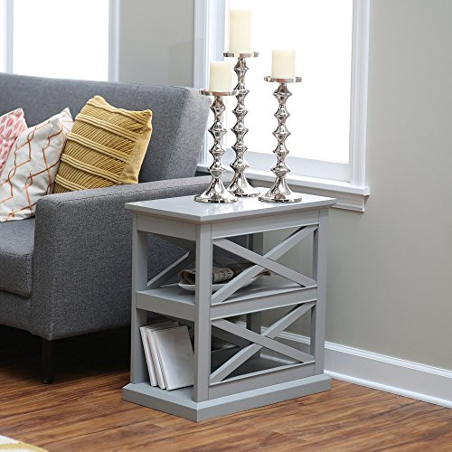 Top 5 Best End Tables Living Room Grey For Sale 2017