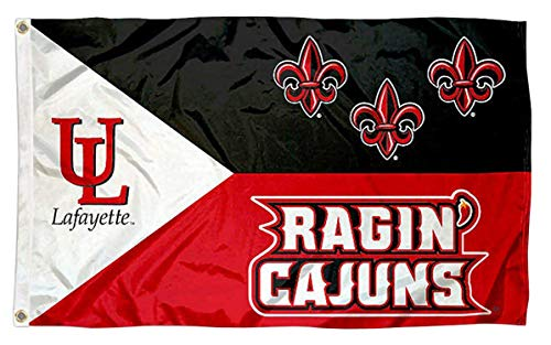 - Asian Zing UL Lafayette Ragin Cajuns Flag