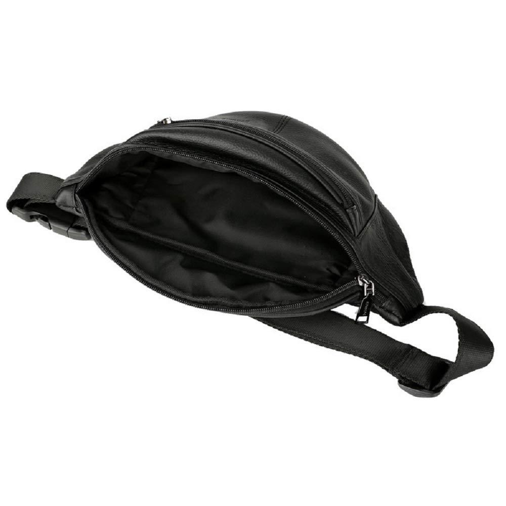Qiusa Hochwertige Reißverschluss Bauchtasche, Wasserdichte Gürteltasche mit räumlichen Design, Faltbare Hüfttasche für Smartphone, Bauchtasche unbegrenzt für Männer und Frauen