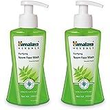 Himalaya Herbals Purifying Neem Face Wash, 200ml (Pack of 2)