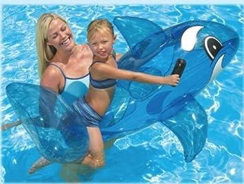 Canotto Hinchable cm. 132 Delfín: Amazon.es: Bricolaje y ...