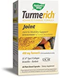 Nature's Way Turmerich Advanced Turmeric Formula for Joint & Mobility Support*; 400 mg Turmeric per serving; Boswellia, Organic Burdock Root, Collagen and Black Pepper; Vegetarian Capsules; 60 Count