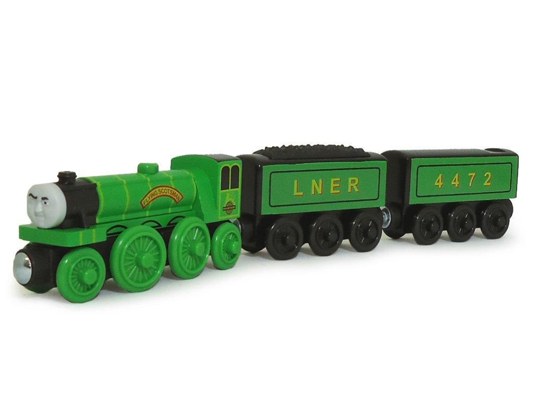 Amazon.com: Fisher-Price Thomas the Train Wooden Railway Flying ...