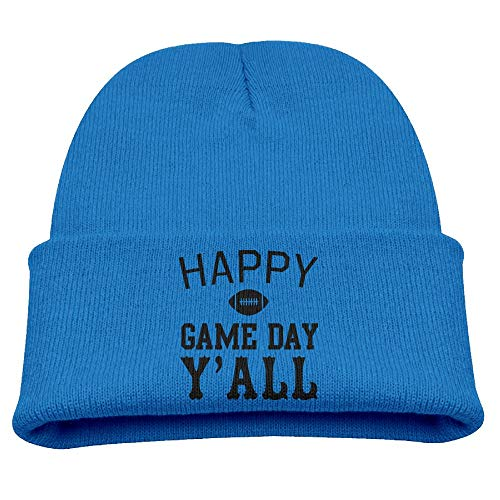 (Happy Game Day Y'all 1 Knit Hats Beanie Caps Skull Caps Baby Boys )
