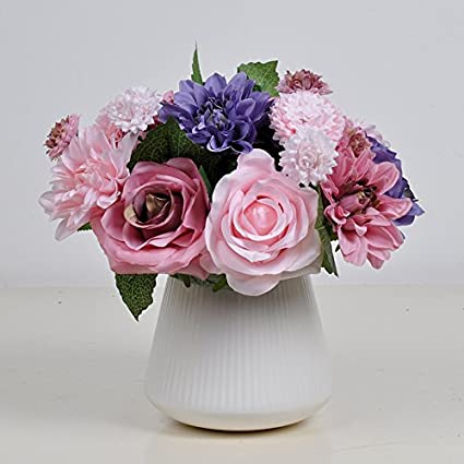 Roses emulation flower kit artificial flowers silk flowers living ...