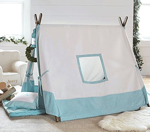 Kids Teepee Tent with 4 Poles,Play Tent,Kids Teepee,A-Frame Tent ...