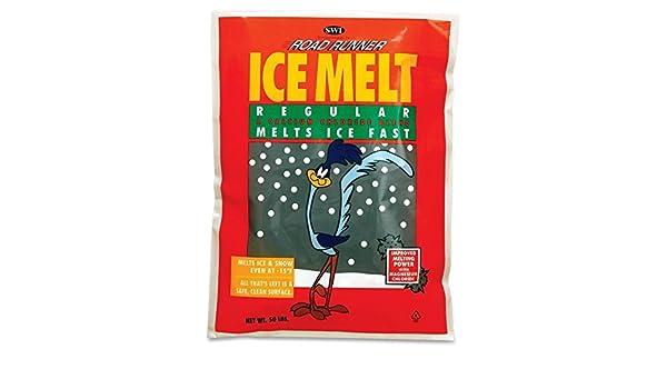 Road Runner Premium cloruro de magnesio Ice Melt 50 kg bolsa: Amazon.es: Jardín