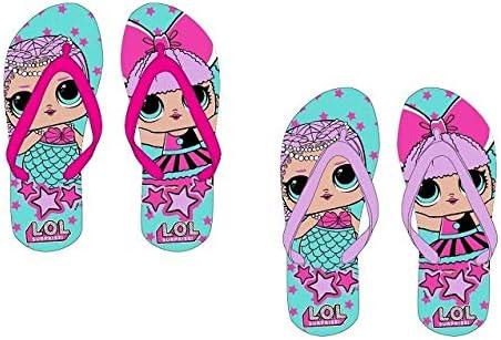 L.O.L Girls Color Change Upper Flip-Flops Surprise