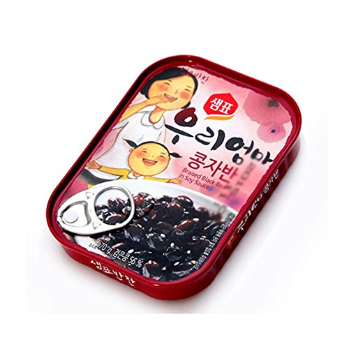 [Sempio]Mother Made Soy Sauce Braised Black Bean 5EA/Good for any meal/Delicious Side Dish/Dongwon/Tuna/콩자반/샘표