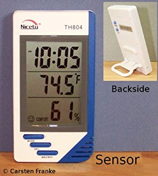 Temperature Humidity Meter TH804 Hygrometer Indoor Thermometer