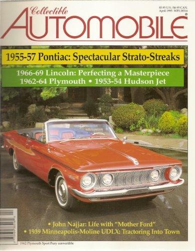 Collectible Automobile Magazine April 1995 (Vol. 11 No. 6)