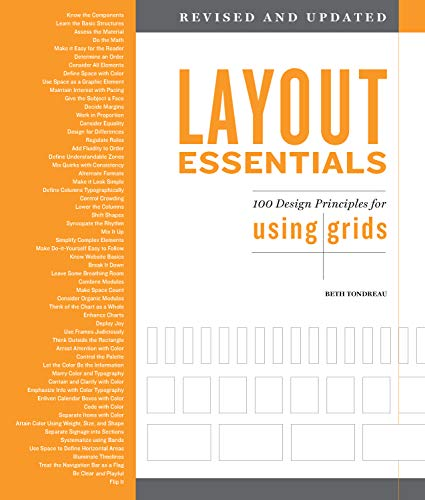 Layout Essentials Revised and Updated:100 Design Principles for Using Grids