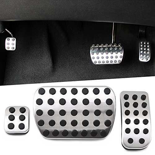 V Benz Mercedes Cars Class (AndyGo Gas Fuel Brake Pedal Pads Cover Car Styling Fit for Mercedes Benz V Class Vito Metris Viano W447 W639)