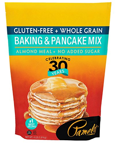 Pamela's Products Gluten Free Baking and Pancake Mix, 4-Pound Bags (Pack of (Pamelas Products Gluten Free)