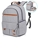 Endurax Waterproof Camera Backpack for Women and Men Fits 15.6' Laptop with Build-in DSLR Shoulder Photographer Bag Gray