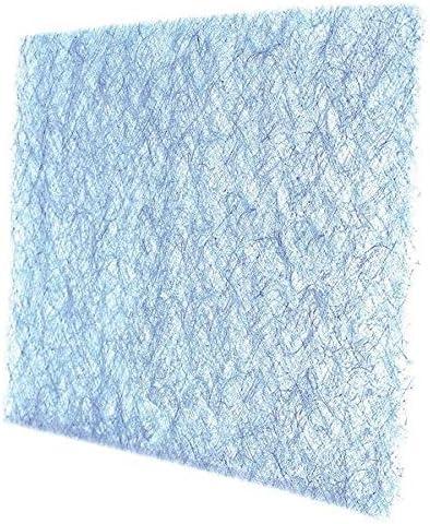 24-PK 20 x 25 x 2 Fiberglass Air Filter Pad Less Than 5 MERV,Blue//White