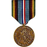 United States Military Armed Forces Full Size Medal - Armed Forces Expeditionary