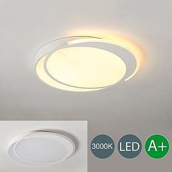 Trusting LED Deckenleuchte Oval Design Moderne Deckenlampe Innen ...