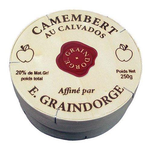 Camembert With Calvados - Pre Order - - 6 x 8.8 oz by Graindorge (Image #1)