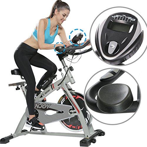 L NOW Fitness Indoor Cycling Bike,Indoor Stationary