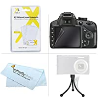 Must Have Accessory Kit For Nikon Coolpix S3700, S2800, S2900, S33, S7000, S6900, S4300, S6500, S3200, S6800, S3600, A300, W100 Digital Camera Includes Replacement EN-EL19 Battery + Charger + Case ++ by ButterflyPhoto