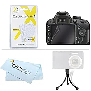 8GB Accessories Kit For Canon Powershot Elph 190 IS, ELPH 180, A2500, ELPH 170 IS, ELPH 160, ELPH 350 HS, ELPH 360 HS Digital Camera Includes 8GB High Speed SD Memory Card + Replacement NB-11L Battery + AC/DC Charger + Case + More from ButterflyPhoto