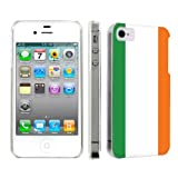Apple iPhone 4 or 4s Ultra Slim Light Weight Plastic Cover Case By SkinGuardz - Irish Flag